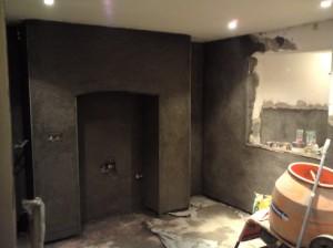 Tanking and waterproofing plastering.